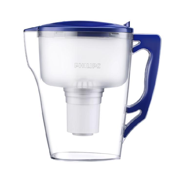 飛利浦 PHILIPS  AWP2921  帶計時器3.5L 濾水壺 水壺 | 國際檢測機構SGS認證餘氯去除率高於99%鉛去除率高於98.6%360度進水口設計,過濾更快速食品級安全材質V型壺嘴&防塵設計