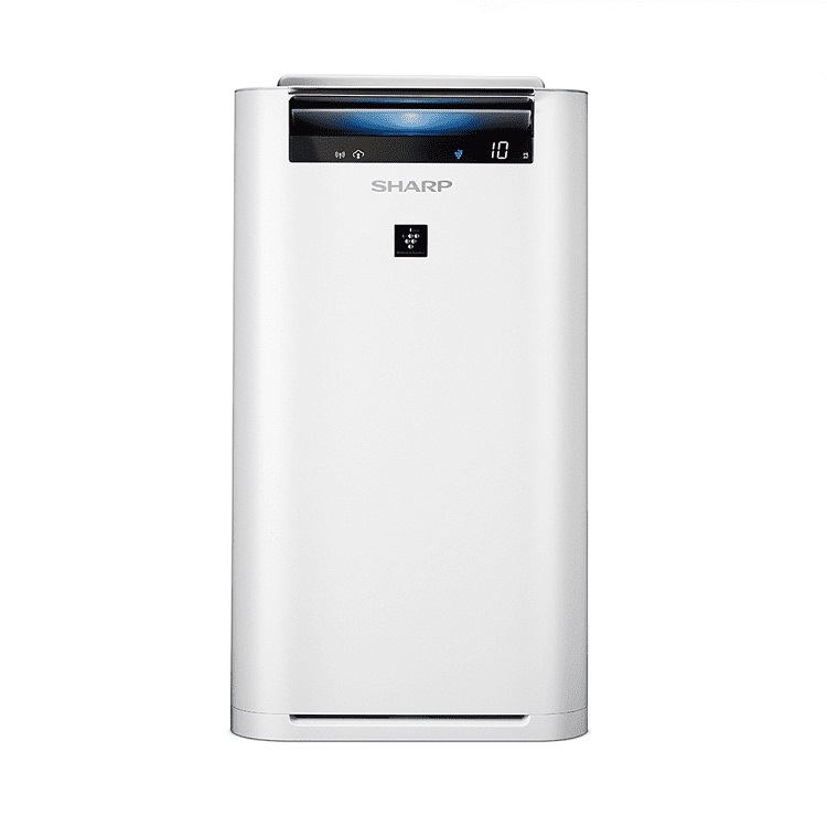 SHARP 12坪AIoT智慧空氣清淨機 KC-JH51T-W | PM2.5/細菌/甲醛濾除率99.9%日本製造,原裝進口風量6段(自動,花粉,舒眠,強,中,弱 模式)高濃度定向淨化行程,清除細菌&異味淋浴式清淨行程,釋放高濃度自動除菌離子搭載SHARP COCORO AIR