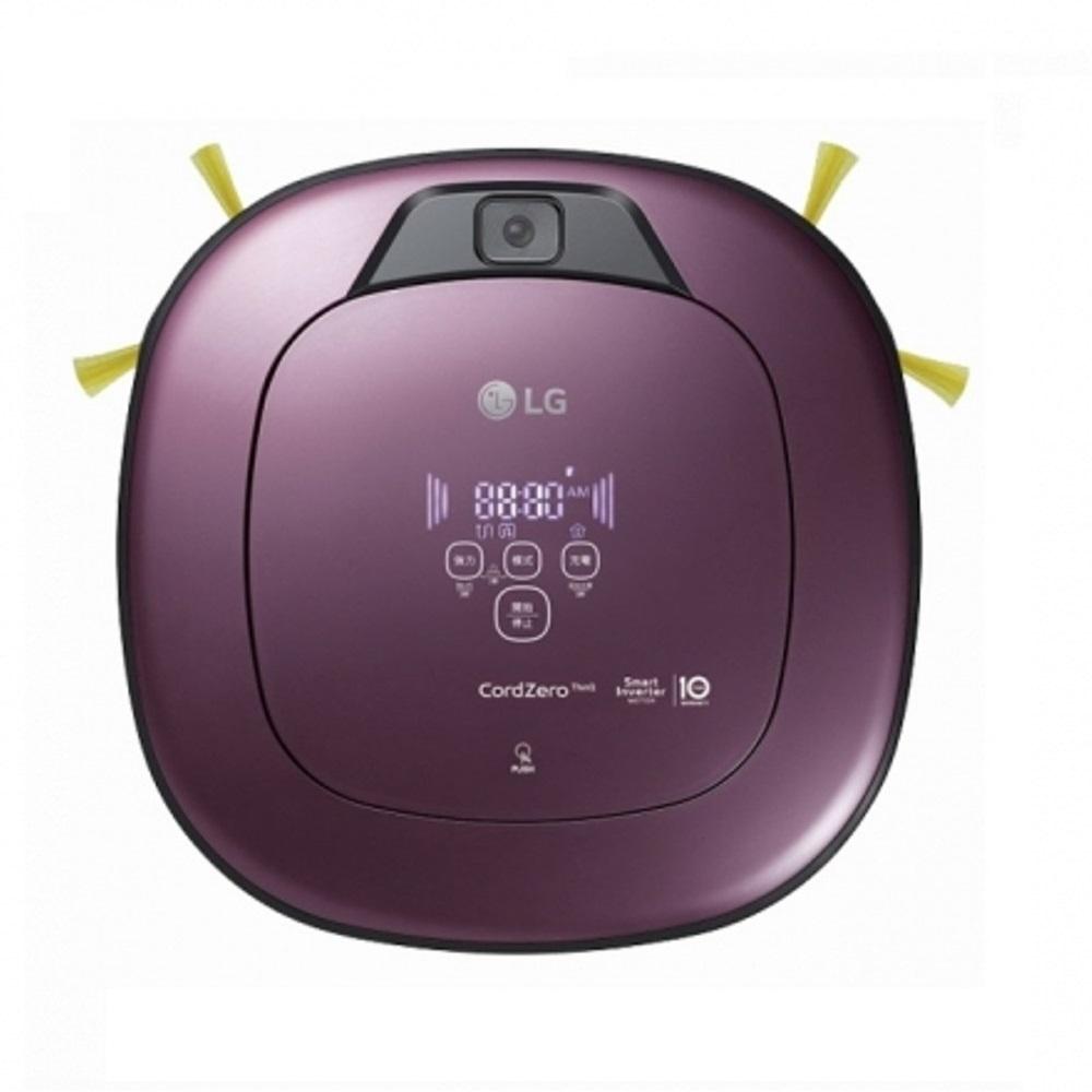 LG CordZero WiFi濕拖清潔機器人(雙眼) VR6690TWVV | SmartThinQ APP隨時遠控打掃 另有LINE對話操作介面更方便低噪音,打掃不打擾防毛髮糾結刷頭,清潔更容易乾吸濕拖同時完成有效率智慧變頻馬達10年保固 吸力更強詳細商品介紹請查閱官網雙智慧鏡頭導航 打掃超效率