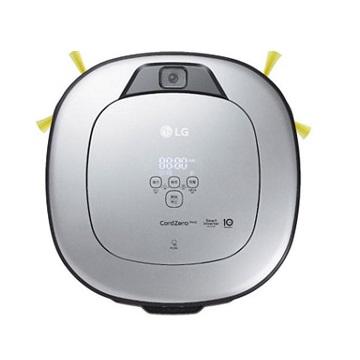 LG CordZero WiFi濕拖清潔機器人(三眼) VR6698TWAR   ThinQ APP隨時遠控打掃 另有LINE對話操作介面更方便防毛髮糾結刷頭,清潔更容易防跨越磁條設定限制進入區域居家監看 手機遠控打掃智慧給水系統 乾吸濕拖同時完成智慧變頻馬達10年保固 吸力更強詳細商品介紹請查閱官網