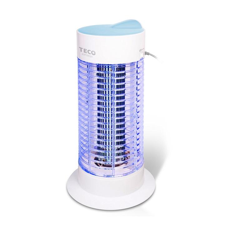 TECO東元 捕蚊燈 XYFYK101   10W高效率捕蚊燈專用燈管加強聚光,透明網框設計底座、集蚊盒、電擊網固定座均防火材質蚊蟲的剋星,杜絕登革熱好幫手聚蚊效果提升30%
