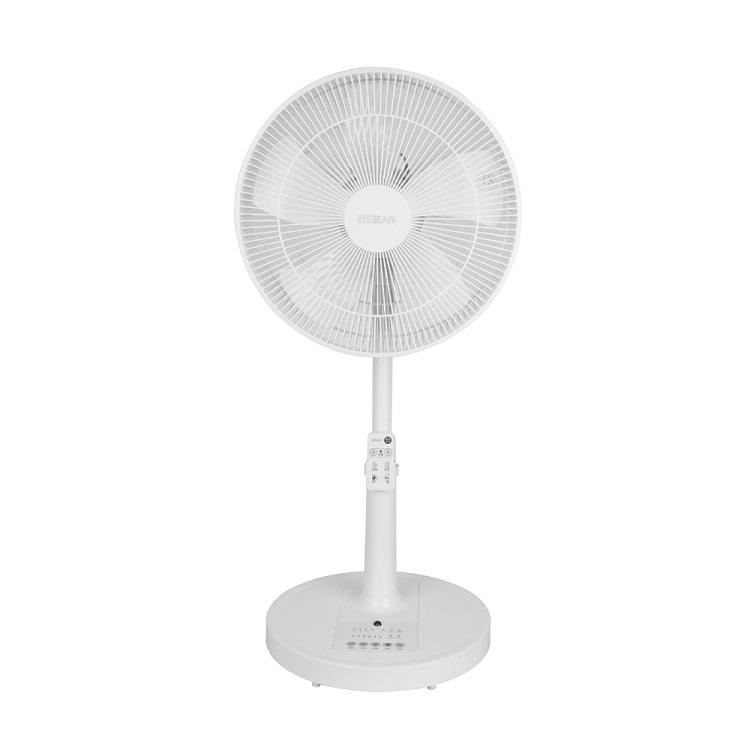 禾聯 14吋智能變頻DC風扇 HDF-14CH550   日本品牌馬達省電DC變頻馬達5片式扇葉風感柔順三種風模式7.5小時預約開機/ 定時關機遠端遙控