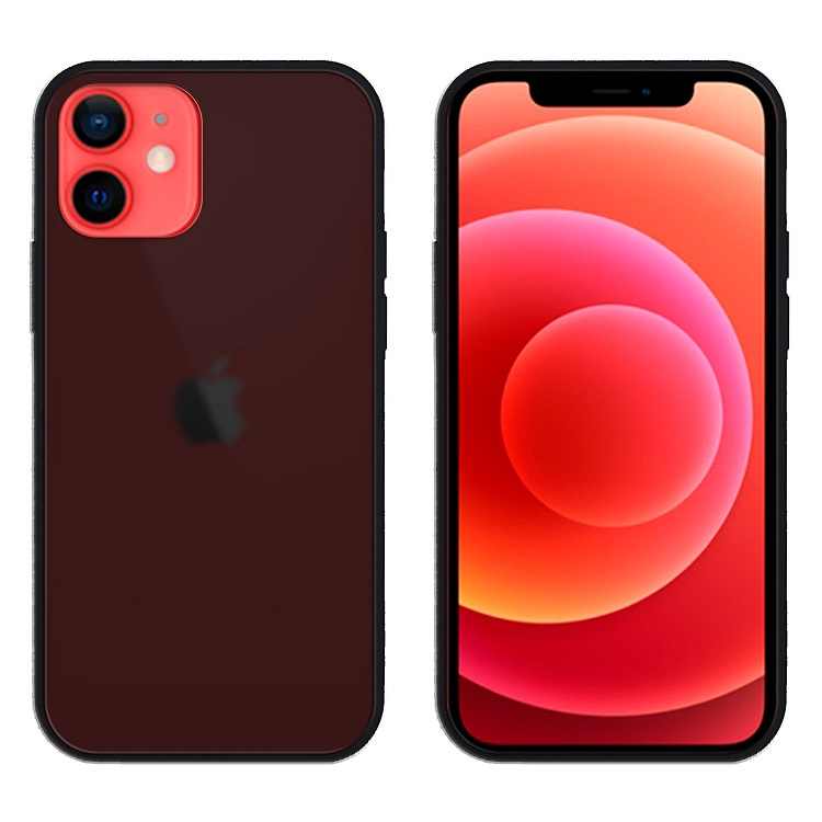 APPLEms Apple iPhone 12 mini 雙料軍規減震保護殼黑(5.4吋) | 孔位包覆設計,防止灰塵進入邊框加高,螢幕、鏡頭保護再加級TPU邊框,降低摔落撞擊力道詳細商品介紹請查閱官網