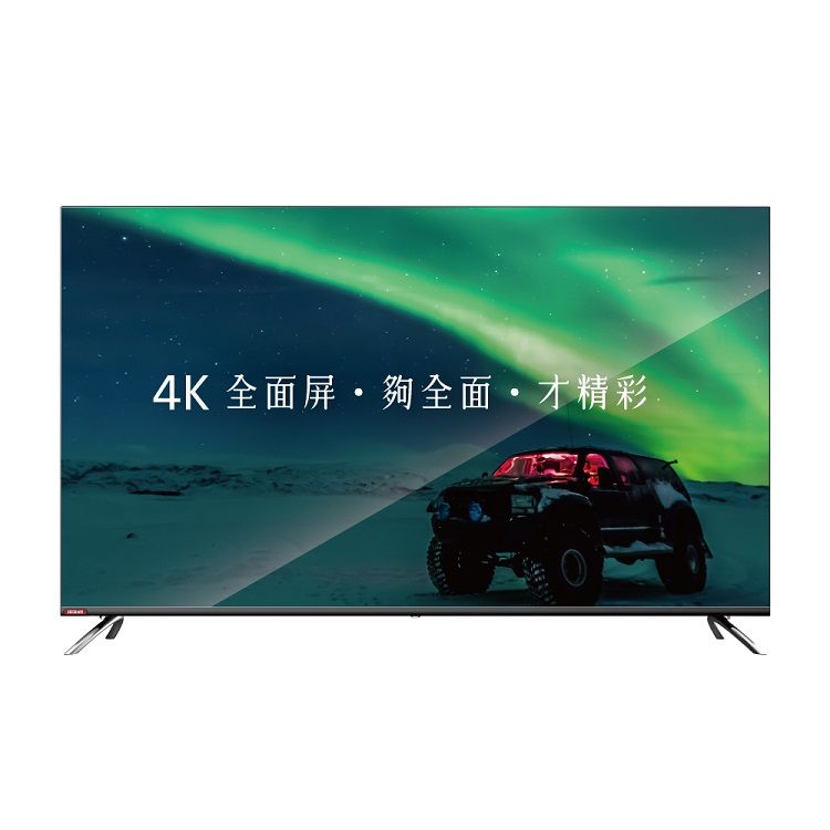 HERAN 禾聯 65型 4K全面屏智慧連網液晶顯示器+視訊盒 HD-65TDF66   4KUHD 3840X2160高解析度SMART  Enjoy智慧連網系統配備USB 端子一組內建二組HDMI數位影音端子、WIFI含類比/HD/HiHD視訊盒注意:本商品只含運送、安裝服務,不含舊機回收。