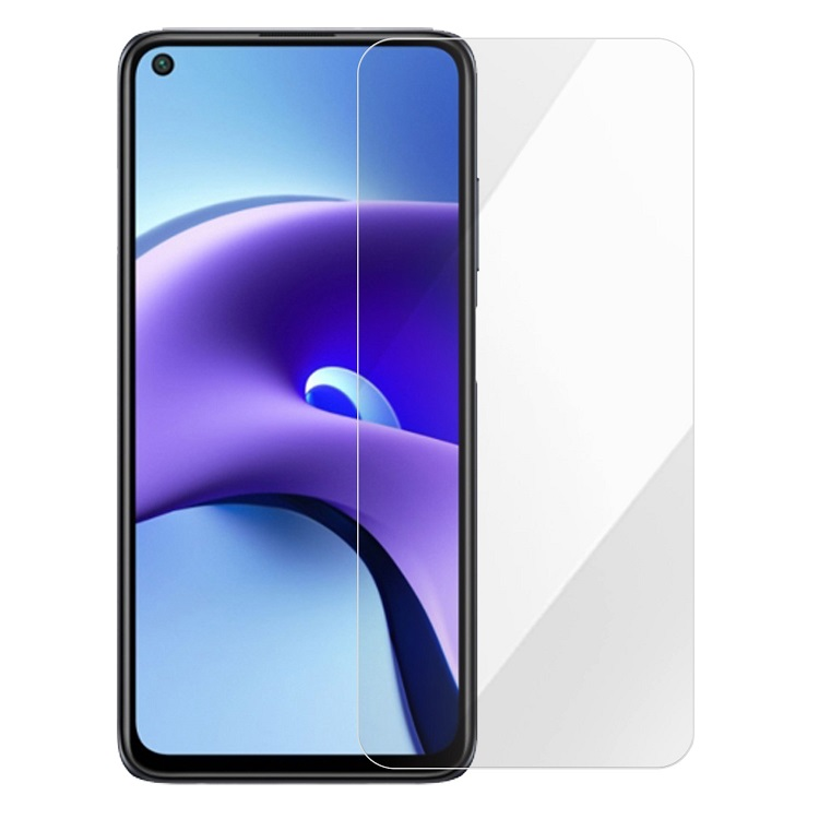 Xiaomims 紅米Note 9T 弧邊0.26mm玻璃保護貼   9H硬度等級,耐磨抗刮進口日本旭硝子原料光學級特殊技術處理,透光率達95%