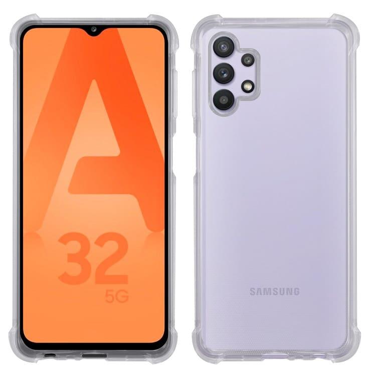 Samsungms Samsung Galaxy A32 5G 氣墊防摔保護殼   通過SGS美國軍事級認證邊角四周氣墊強化設計採用進口無毒塑料詳細商品介紹請查閱官網