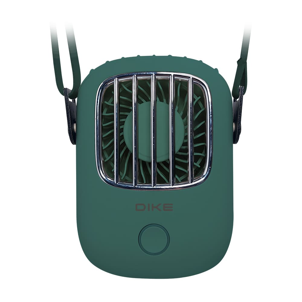 DIKE頸掛式雙用風扇 DUF400 | 創新的頂部出風口可依需求調整長短三檔風速自由轉換攜帶出門非常吸睛解放雙手享受冷風