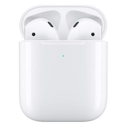 APPLEAIRPODS 2有線充電版 | -全新 AirPods 重新詮釋無線耳機的使用體驗,只要從充電盒中取出,就能立即搭配你的 iPhone、Apple Watch、iPad 或 Mac 使用-只要說出「嘿 Siri」並說出指令,即可調整音量、切換歌曲、撥打電話,甚至取得路線指引-AirPods 充電一次能夠提供 5 小時的聆聽時間與 3 小時的通話時間