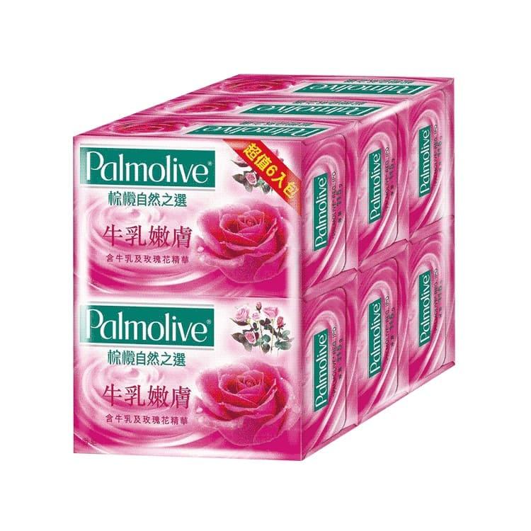 棕欖香皂 | 詳細商品介紹請查閱官網牛奶嫩膚製造日期與有效期限,商品成分與適用注意事項皆標示於包裝或產品中